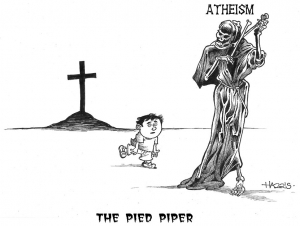 Atheism is the The Pied Piper of Children