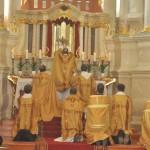 Pontifical Solemn Mass Celebrated by Bishop Eugenijus Bartulis, of Šiauliai