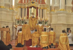 Pontifical Solemn Mass Celebrated by Bishop Eugenijus Bartulis, of Šiauliai