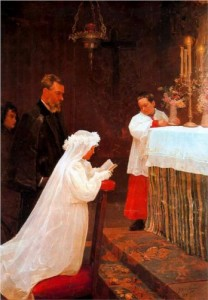 First Communion 1896 Picasso
