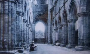 Kirkstall Abbey 1890s