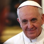Pope Francis with Magnetic Smile