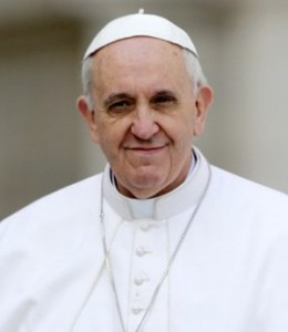 Pope Francis Smiling with Cap