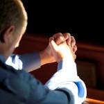 Catholic Man Praying
