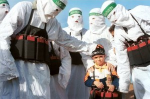 Muslim Child Suicide Bomber Wide Pic