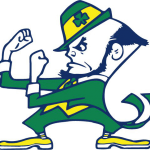 University of Notre Dame Leprechaun Transparent