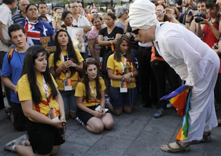World Youth Day Madrid Spain Gay Homosexual Attacks