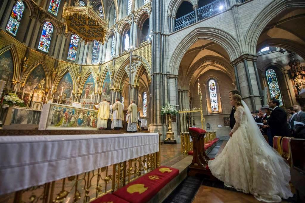 Anglican Ordinariate Wedding Wide Pic