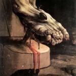 Matthaias Grunewald The Crucifixion Detail Square Pic