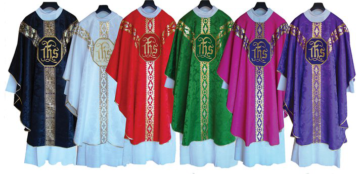 Catholic Liturgical Vestments Wide Pic Transparent