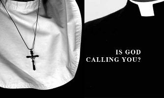 Is God Calling You Vocations to the Priesthood Nun Wide Pic