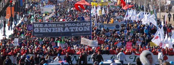 March for Life Wide Pic BP