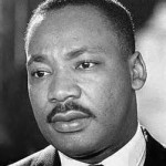 Reverend Martin Luther King Junior Square Pic