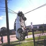 Strange Car Accident Square Pic