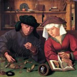 The Money Lender and His Wife Quentin Massys Original Pic