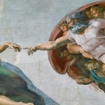 Michaelangelo Sistine Chapel God and Adam Original Pic