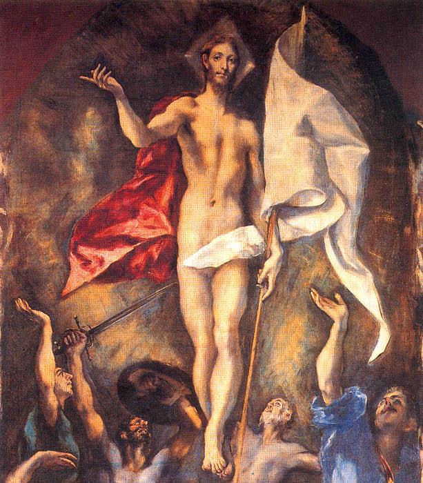 El Greco Resurreciton Trunc Pic