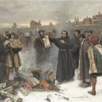 Karl Aspelin Martin Luther uppbränner den påfliga bullan