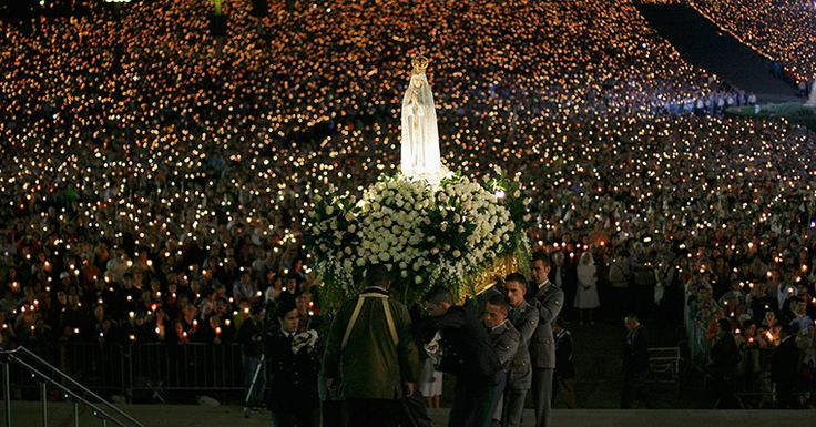 Our Lady of Fatima Blessed Virgin Mary