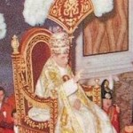 Pope Pius XII Regal Papacy Wide Pic