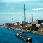 Industry Business Smoke Stacks