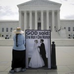 US Supreme Court Pro Marriage Protester