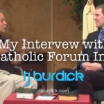 Catholic Forum TJ Burdick Wide Pic