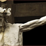 Crucified Jesus Christ Statue
