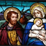 Flight to Egypt Joseph Mary and Baby Jesus Wide Pic Chelsea Zimmerman