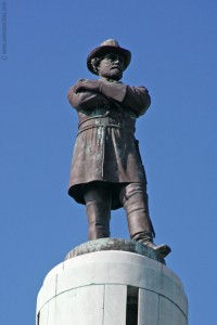 General Robert E Lee Confederate The South Statue Tall Pic