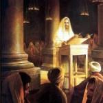 Jesus Teaching Rabbi Synagogue