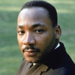 Reverend Martin Luther King Tall Color Pic