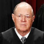 Somber Looking Supreme Court Justice Anthony Kennedy Wide Pic
