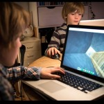 Children on Laptops Technology