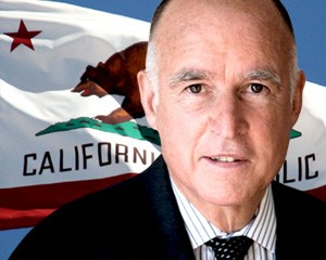 Governor Jerry Brown California Wide Pic
