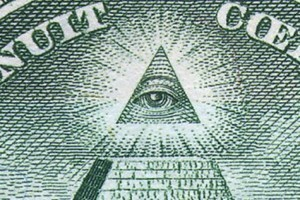 Illuminati Free Mason Secret Society All Seeing Pyramid One Dollar