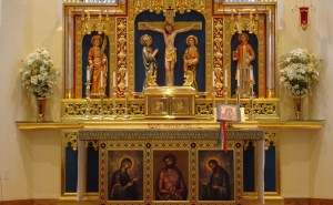 Our Lady of Walsingham Altar Houston Texas United States of America