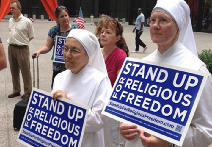Little Sisters of the Poor Win Supreme Court HHS Mandate Contraception Obama Evil Culture of Death Religious Freedom Religious Liberty